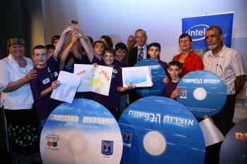 הזוכים המאושרים בתחרות אינטל ודן חמיצר בנושאי הגנת הסביבה, בטיחות בדרכים ומדעים